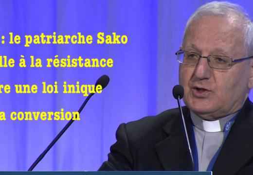 Irak : le patriarche Sako appelle à une manifestation contre une loi inique