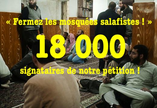 Notre pétition : déjà plus de 18 000 signataires !