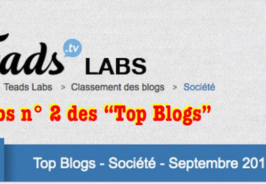 """L'Obs n° 2 des blogues """"société"""""""