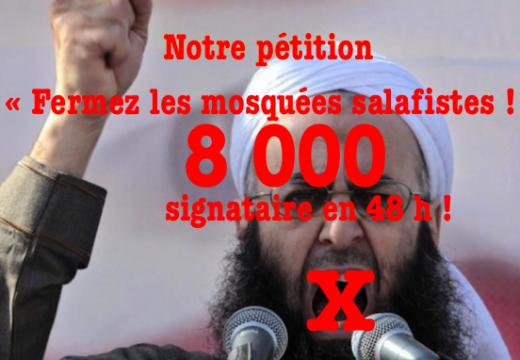 Notre pétition : déjà 8 000 signataires !