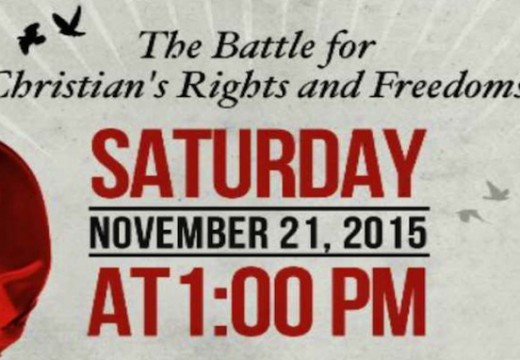 Toronto : manif le 21 novembre contre les intimidations antichrétiennes