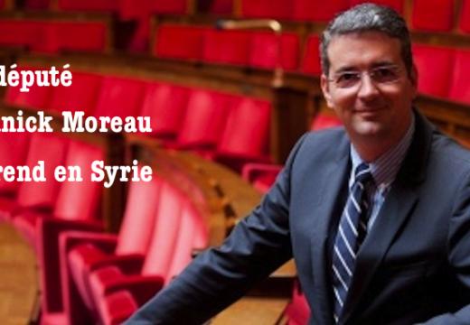 Le député LR Yannick Moreau se rend en Syrie