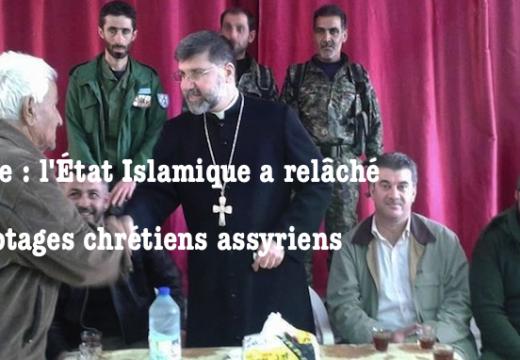 Syrie : l'État Islamique relâche 37 otages chrétiens