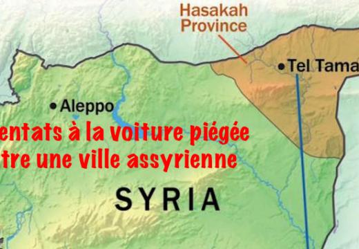 Syrie : attentats contre une ville assyrienne