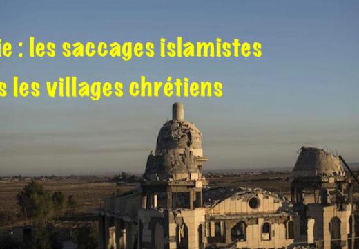 Syrie : poignantes photos dans un village chrétien repris aux islamistes