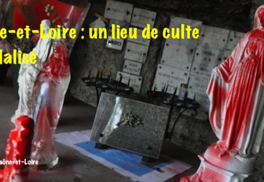 Saône-et-Loire : un lieu de culte vandalisé à Lessard-en-Bresse