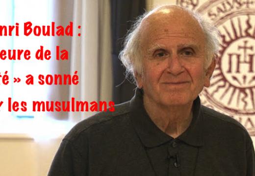 Tueries du 13 novembre : le Père Boulad s'adresse aux musulmans