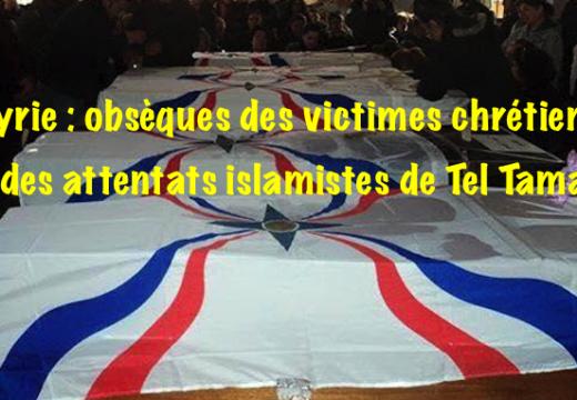Attentats de Tel Tamar : obsèques des victimes chrétiennes