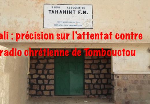 Mali : précisions sur l'attentat contre la radio Tahanint FM