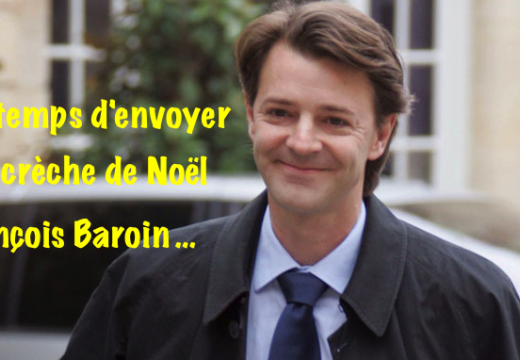 Il est temps d'envoyer votre crèche de Noël à François Baroin…