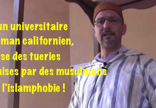 Tueries islamiques : l'obscène déni de réalité d'un universitaire musulman