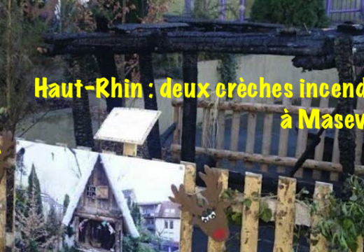 Haut-Rhin : deux crèches incendiées à Masevaux