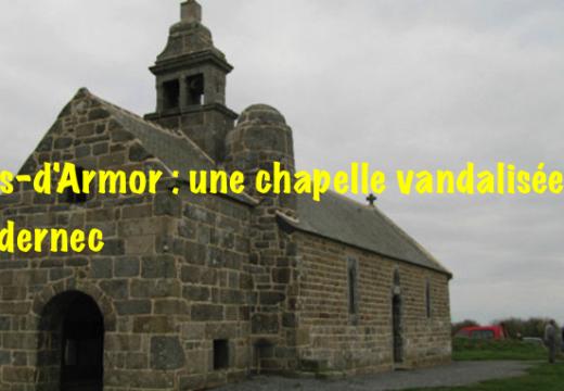 Côtes-d'Armor : une chapelle vandalisée à Pédernec