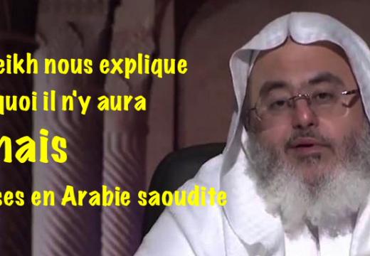 Sheikh Muhammad Salih al-Munajjid : jamais d'églises en Arabie saoudite