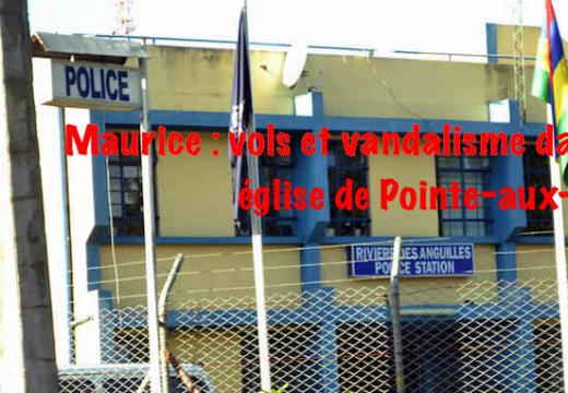 Maurice : vols et vandalisme dans une église de la Pointe-aux-Sables