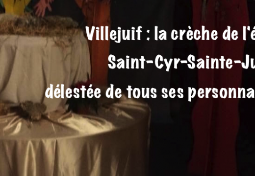 Val-de-Marne : la crèche de l'église Saint-Cyr-Sainte-Julitte délestée de ses personnages…