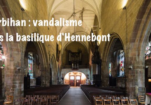 Morbihan : vandalisme dans la basilique d'Hennebont