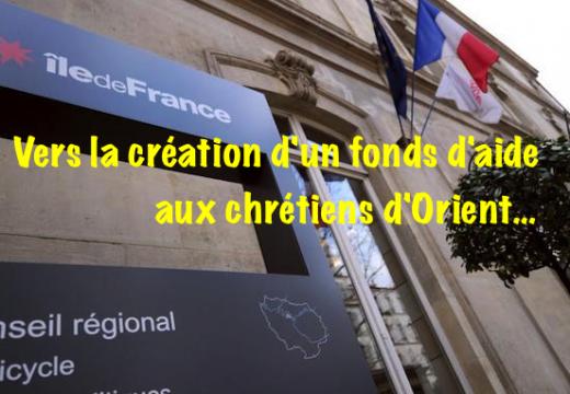 Île-de-France : vers la création d'un fonds d'aide pour les chrétiens d'Orient