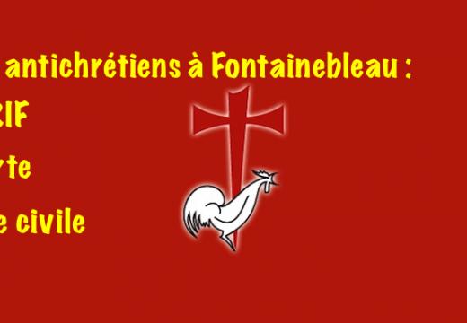 Incendie de Fontainebleau : l'AGRIF se porte partie civile