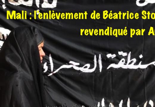Mali : AQMI revendique l'enlèvement de Béatrice Stockly