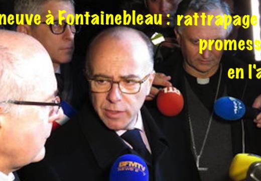 Cazeneuve à Fontainebleau : il ignorait « la gravité des faits »…
