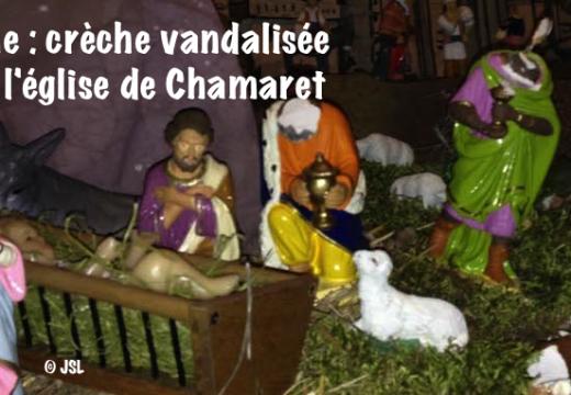 Drôme : une crèche vandalisée dans l'église de Chamaret