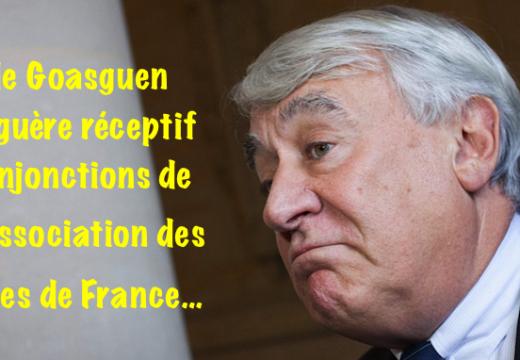 Les vœux du maire du XVIe arrondissement de Paris…
