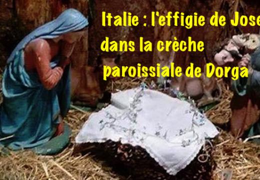 Italie : crèche vandalisée à Dorga