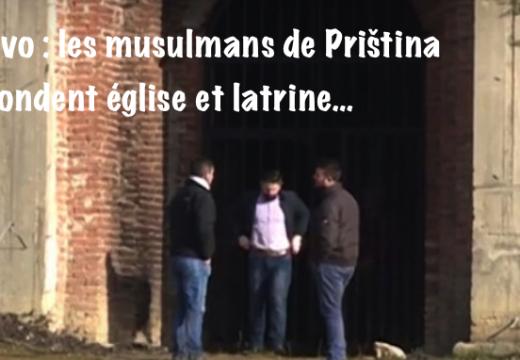 Kosovo : une église de Priština transformée en toilettes publiques !
