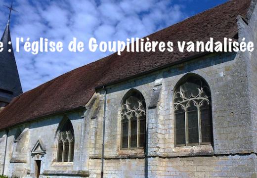 Eure : l'église de Goupillières vandalisée…