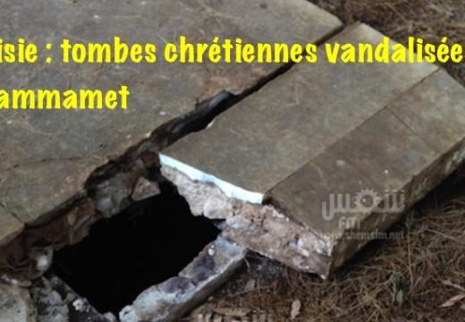 Tunisie : un cimetière catholique vandalisé à Hammamet