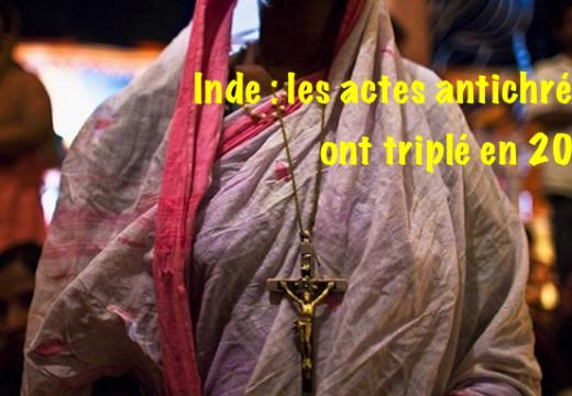 Inde : 365 actes antichrétiens graves en 2015