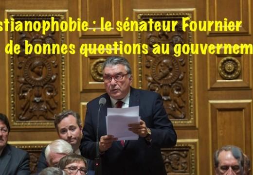Christianophobie : le sénateur Fournier pose de bonnes questions…