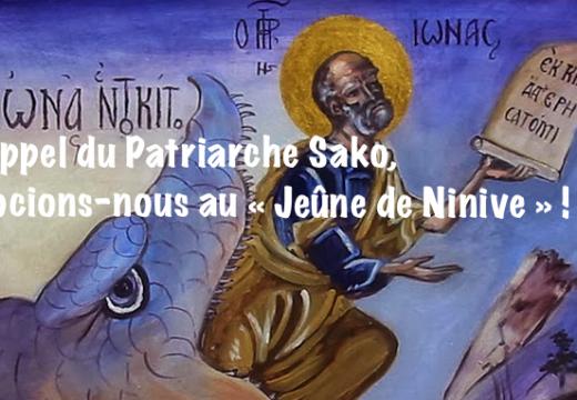 Irak : joignons-nous au « Jeûne de Ninive »