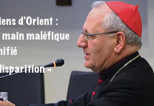 Patriarche Sako : une main maléfique a planifié la disparition des chrétiens d'Orient…