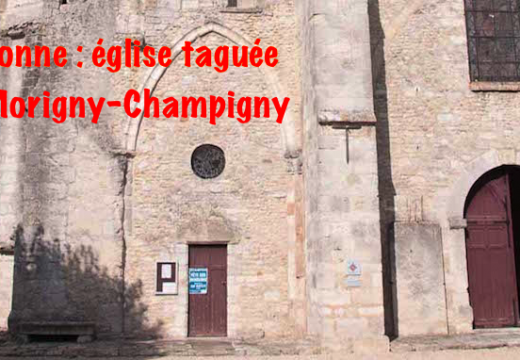 Essonne : église taguée à Morigny-Champigny