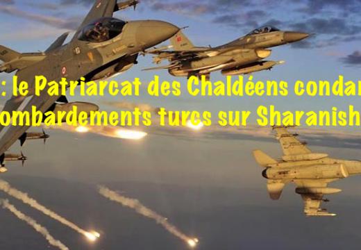Irak : le Patriarcat chaldéen condamne le bombardement de Sharanish
