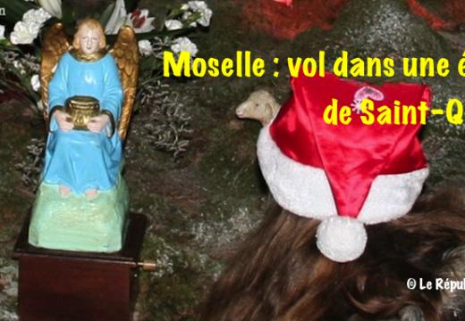 Moselle : vol dans l'église priorale de Saint-Quirin