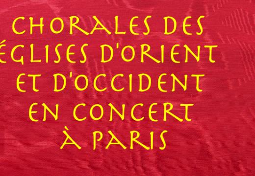 Paris : concert inter Ecclésial ce samedi à Saint-Eugène
