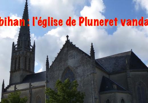 Morbihan : une église vandalisée à Pluneret