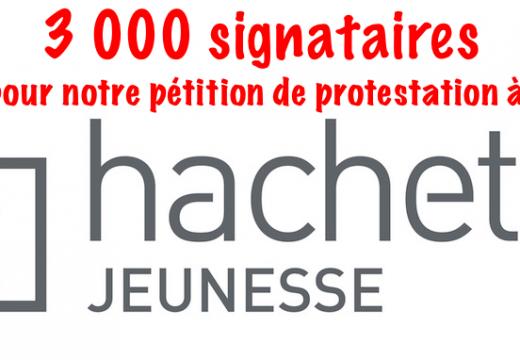 Hachette Jeunesse : notre pétition signée par 3 000 lecteurs !