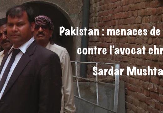 Pakistan : menaces de mort contre un avocat chrétien