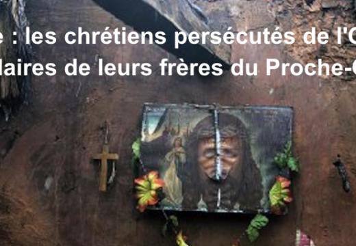 Inde/Proche-Orient : solidarité des chrétiens persécutés