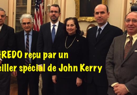 La CHREDO rencontre un conseiller spécial de John Kerry