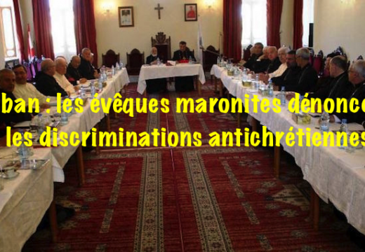 Liban : la discrimination antichrétienne progresse