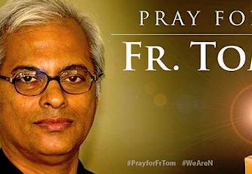Semaine sainte : des prières pour le Père Tom !