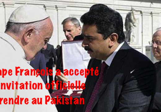 Le pape François invité officiellement au Pakistan