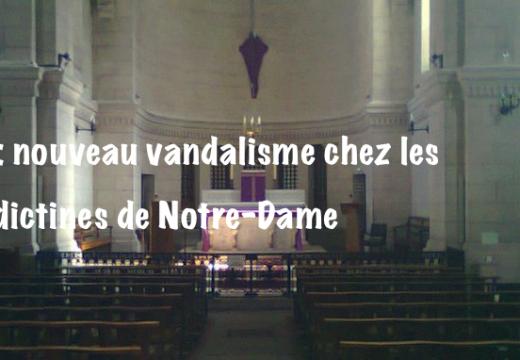 Lyon : une chapelle de nouveau vandalisée
