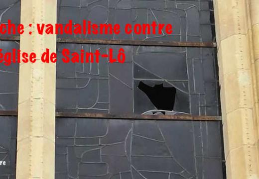 Manche : église vandalisée à Saint-Lô