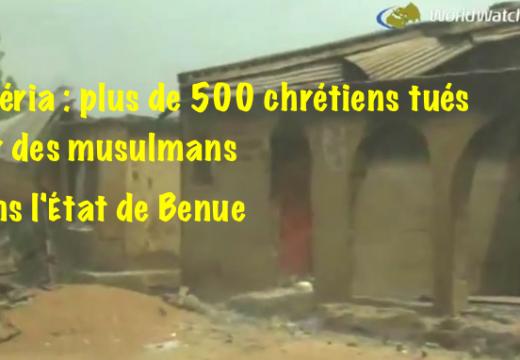 Nigéria : le bilan des victimes chrétiennes s'alourdit dans l'État de Benue